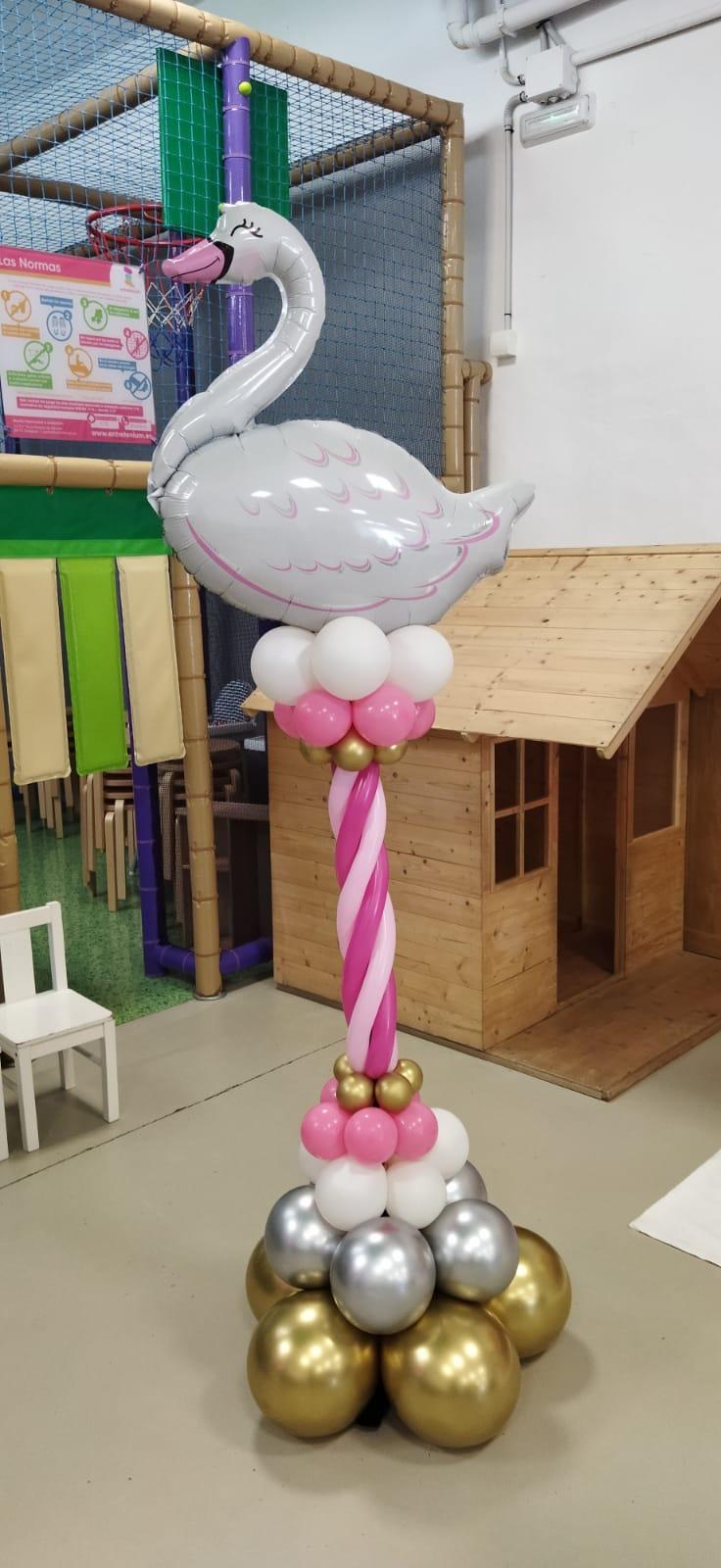 decoracion con globo