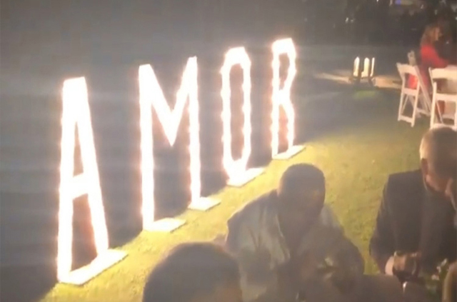alquiler letras love boda Málaga